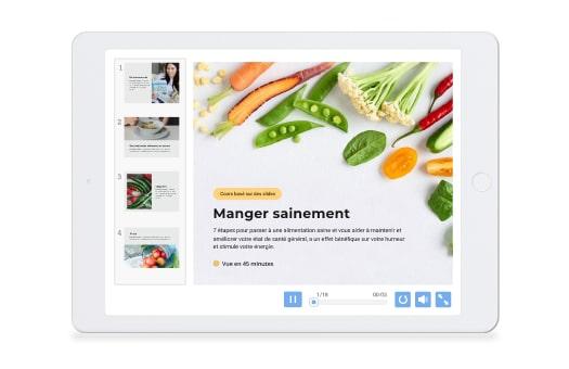 Présentation HTML5 sur iPad